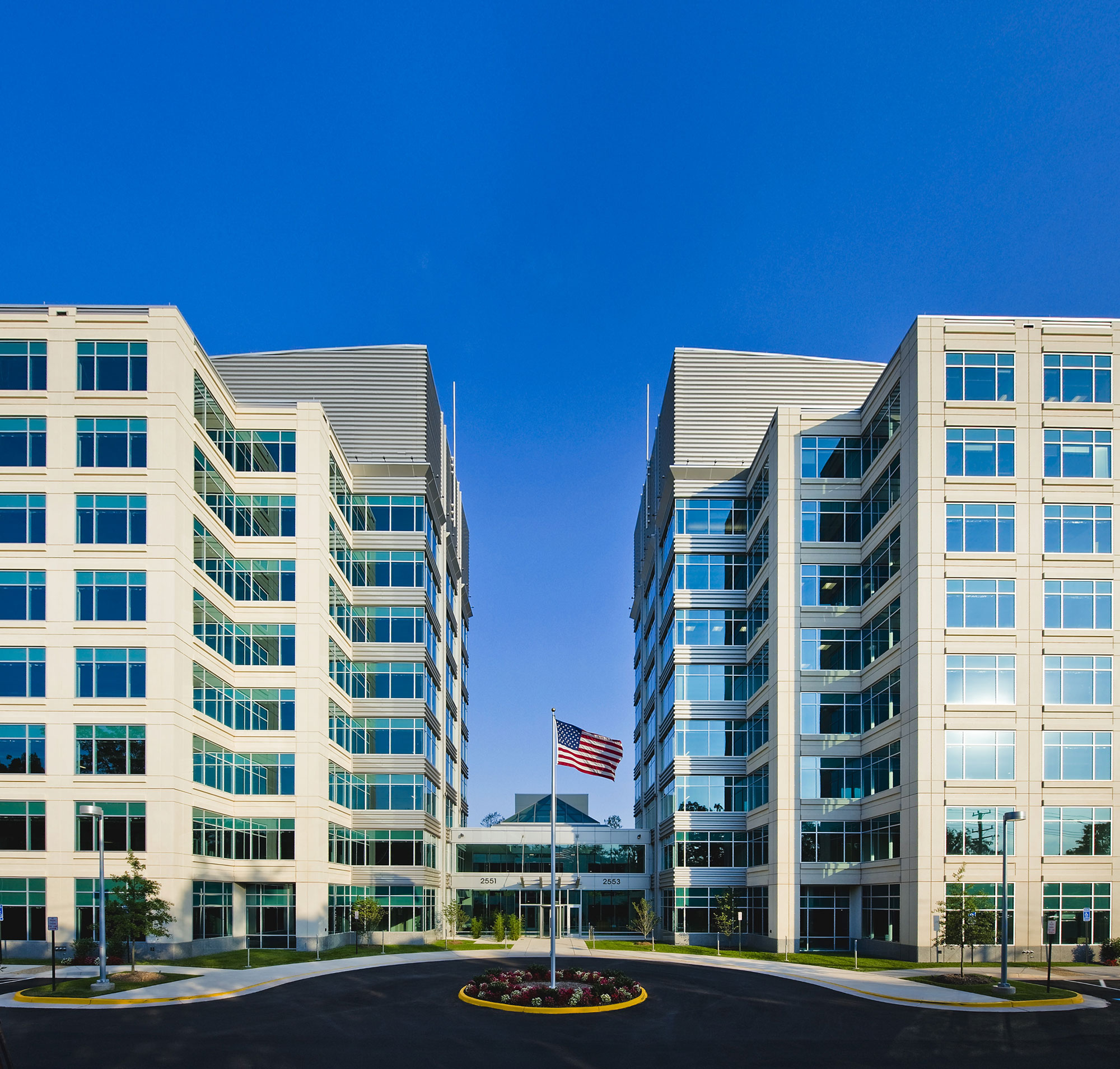 Class A property with superior finishes adjacent to Dulles International Airport